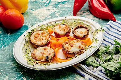 Poza Ciuperci gratinate