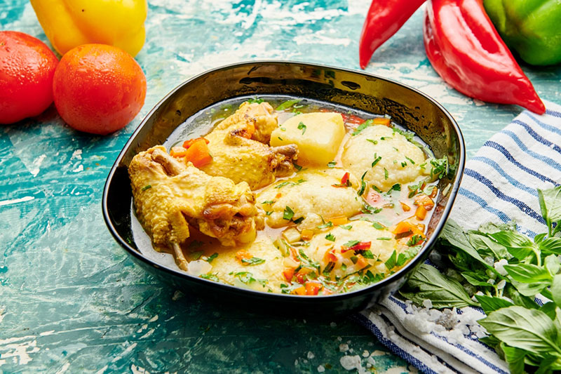 Poza Supa de pui cu galuste