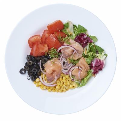 Poza Salata cu Somon